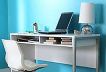 Computer Desks / Need a new desk for your home office? These stylish office desks are appropriate for any work space.