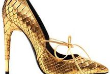 Art of Shoes & Bags ~ Shades of Gold