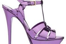 Art of Shoes & Bags ~ Shades of Purple