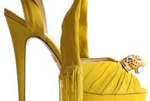 Art of Shoes & Bags ~ Shades of Yellow