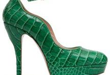 Art of Shoes & Bags ~ Shades of Green