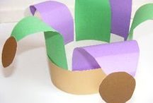 Mardi Gras Crafts, Lessons & Games for Kids / Crafts for kids to celebrate Mardi Gras. See more at www.keiladawson.com