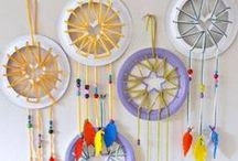 Dreamcatcher inspiration / For peaceful nights that lead to playful days