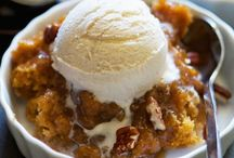 Crisps, Crumbles & Cobblers / Wonderful fruit desserts topped with crumbs, biscuit dough, streusel and more!