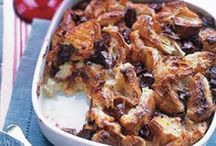 Bread Pudding & Souffles / Here you'll find recipes for the simplest of bread puddings to the most elegant of souffles