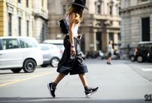 Backpacks & Streetstyle / Backpacks in street style fashion