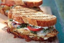 Sandwiches and Such / From PB & J to Roasted Vegetable with Fresh Ricotta, this is your go-to for the best in what's between two slices of bread.