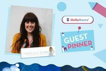 HelloHome Guest Pinner: Fritha from Tigerlilly Quinn / Say hello to our HelloHome guest pinner Fritha Strickland! Fritha runs the top parenting and interiors blog www.tigerlillyquinn.com and has joined us to put her stylish stamp on our new StarBright Toddler Bed. Fritha has incorporated lots of crafty/DIY pins with upcycled furniture for a comfy bedroom with handmade touches.