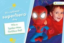 Our spider senses are tingling! / A board to celebrate superhero day on April 28th 2015, with our Spider-Man products and reviews.