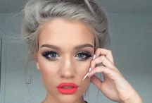 Beautiful Hair & Style Ideas / Fashion, Make-Up, Hair