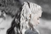 Beautiful Game of Thrones Hair & Style / The Beautiful Women of Game of Thrones