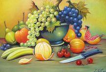 Фрукты, овощи, ягоды / Fruits, légumes,  baies