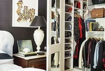 Closets/Dressing Rooms / Dress up the space where you dress up....