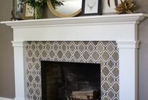 Fireplaces / The most classic of family room focal points... a great place to add texture, interest and warmth