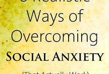 Social Anxiety Disorder / Information and resources related to Social Phobia or Social Anxiety Disorder. (Fear of social or performance situations in which embarrassment may occur.)