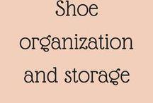 Shoe organization and storage / Ideas to organize and store our shoes #organization #shoeorganization