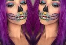 Halloween Makeup / Get inspired with these creative Halloween makeup looks.