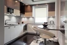 Apartment design in Warsaw (Marina Mokotów) - kitchen