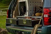SUV & Truck Storage Drawers by MobileStrong / MobileStrong Secure Storage Solutions for SUV's and Trucks - Made in the USA. Perfect for Hunting, Fishing, Contractors, Outdoor Enthusiasts, Law Enforcement and Public Safety Organizations.