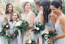 bridesmaid dresses & robes