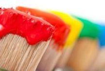 Painting Made Easy: Tips & Tricks / Painting tips for DIY painting or professional painting. http://www.christianpaintingpensacola.com/residential-painting-contractors-pensacola/