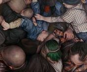 Mosh Pits (Human and Otherwise) / art