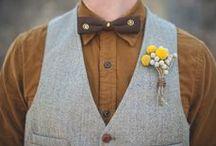 D A P P E R   M E N / Groomsmen and Groom wedding style.