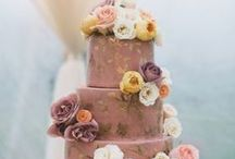 Wedding Cakes / Get inspired by all of the beautiful, creative and colorful wedding cakes!