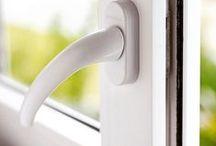 Maçanetas para Janelas - Fenstergriffe - Window Handles / As maçanetas da Weiku do Brasil são importadas da Alemanha. #arquitetura #design #praticidade #pvc #durabilidade #griff #handle #portasejanelas