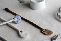 "spoons, other utensils / I have moved most, if not all, of my carved wooden spoons to my board ""wood: carved, turned, other... "". Enjoy! / by Marje Eerme"