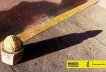 Shadows / Shadows are very traditional objects in advertising, the connection here is between the object and its shadow.