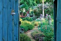 Beautiful Gardens, Quaint Cottages and Sheds
