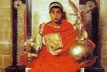 Roma tardia.S.IV-V d.C. / La decadencia y caída del imperio romano de Occidente.
