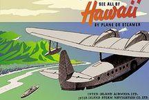 Turismo y Aviación. / Carteles y publicidad antigua