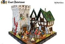 lego médiéval / by legojus