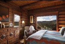 Luxury Accommodations / This is not your average log cabin. Our interior design ethos is this: simultaneously luxurious and authentically western.
