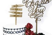 cake toppers for weddings / wedding cake ideas melbourne,  lots of aust made cake toppers personalised, for wedding or birthday