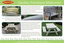 Makeovers / For inspiration - A tour of some of the makeovers of garden sheds, fences, furniture and buildings we performed.