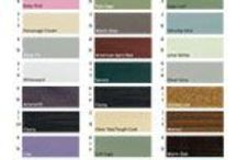 Top of the Pots / Here are the garden shed, fence, building and furniture colour trends as decided on by our customers