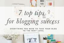 Blog Tips For Beginners / How to start your own blog and use your passion for writing to make money!