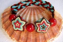 Beads peyote stich