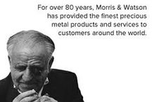 What we do / Morris and Watson supply top quality gold and silver products, gold coins, bars and bullion and high quality machine made gold chain. Built on family values over three generations, Morris and Watson is one of the leading Australasian refineries offering complete jewellery casting and manufacturing services along with an impressive range of fabricated products. Combining impeccable craftsmanship and advanced technology to achieve superior results.