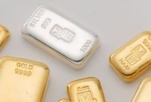 Buy Gold | Bullion / A range of exceptionally crafted Gold Bullion ingots are offered below, all 9999 fineness, and stamped with the respected Morris and Watson hallmark.