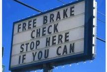 Trucking Humor / Because every trucker could use a good laugh! :)