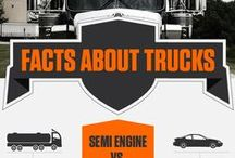 Trucking Facts / Changing the way people view trucking - one infographic at a time.
