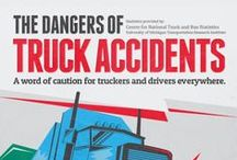 Trucker Safety Tips / Tips to keep truckers safe on the road