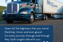 The Trucker Prayer / Praying for all truckers!