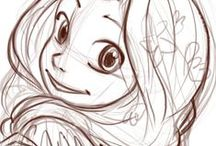Illustrations - Sketches and pencil / Pencil