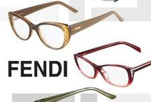 Our Fendi Favorites / Some of our favorite glasses for woman by Fendi