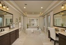 Amazing Baths / Design Your Master Bathroom, Powder Room Or Secondary Bathroom With Some Flare! Get Design Ideas Here!